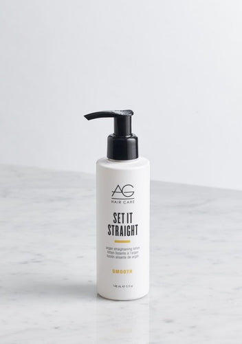 Set It Straight Argan Straightening Lotion