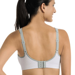 ANITA Maximum Support Air Control Delta Pad White Sports Bra (5544-006)