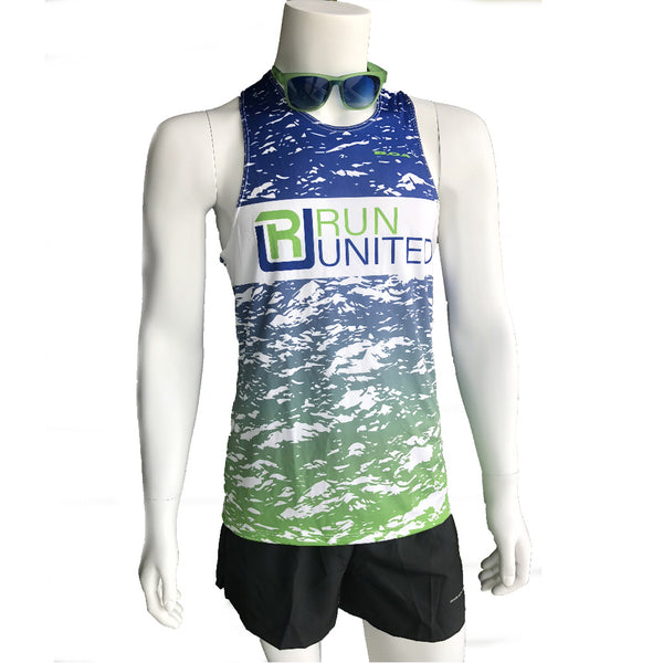 BOA Custom Mens Interval Riptide Singlet 2600GPS-R