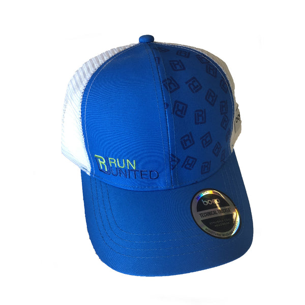 BOCO HATS Blue and White RU Trucker Hat (3400)