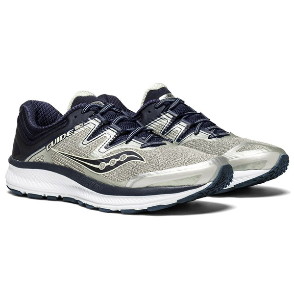 SAUCONY Men's Guide ISO Grey Navy Running Shoe (S20415-1-020)