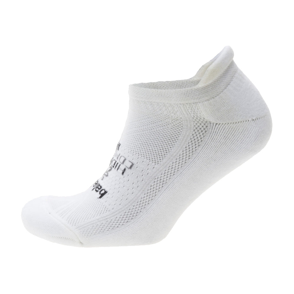 BALEGA Hidden Comfort Unisex White Running Socks (8025-0200)