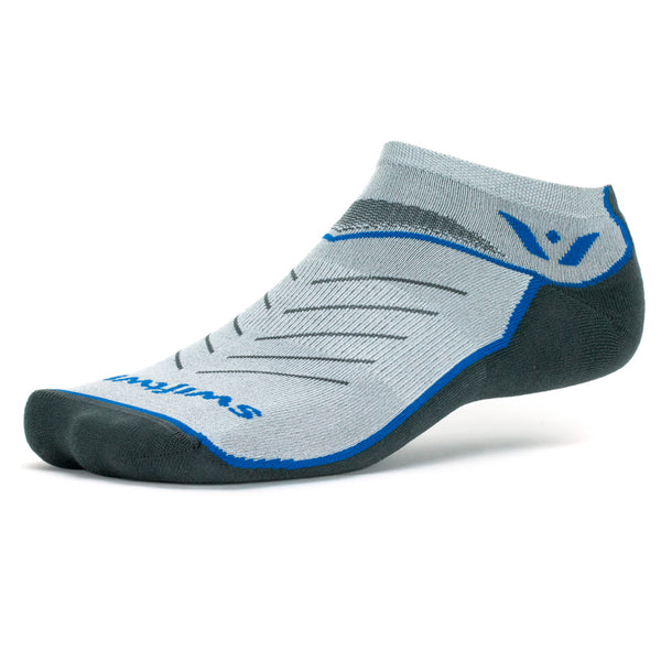 Swiftwick Vibe Zero Blue Running Socks (ZF160ZZ)