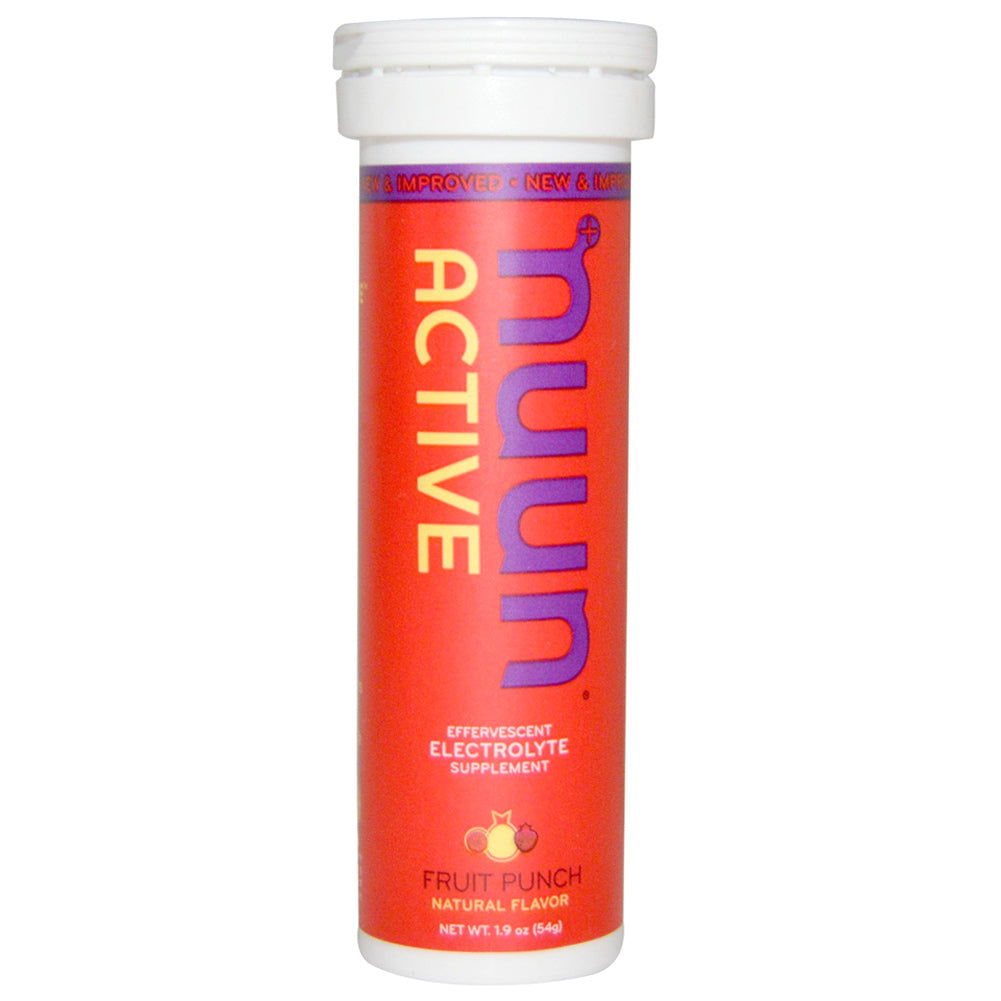 NUUN Active Fruit Punch Single Tube Electrolyte Tablets (1160801)