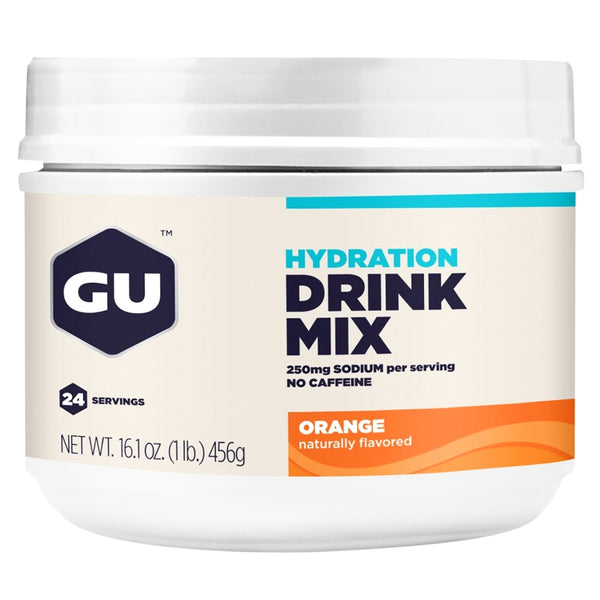 GU ENERGY Hydration Orange 24 Serving Canister Drink Mix (123101)