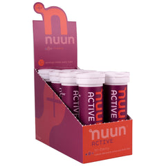 NUUN Active Tri-Berry Box of 8 Tubes Electrolyte Tablets (1160208)