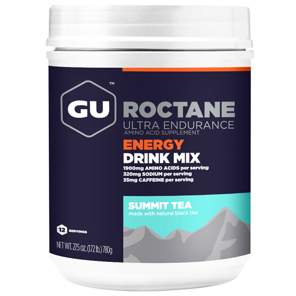 GU ENERGY Roctane Ultra Endurance Summit Tea 12 Serving Canister Energy Drink Mix (124190)