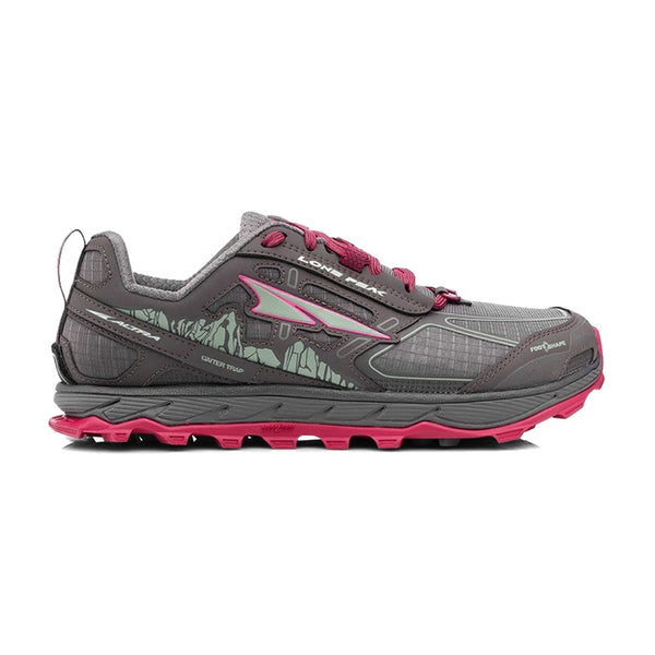 ALTRA Womens Lone Peak 4 Raspberry Running Shoe (AFW1855F-664)