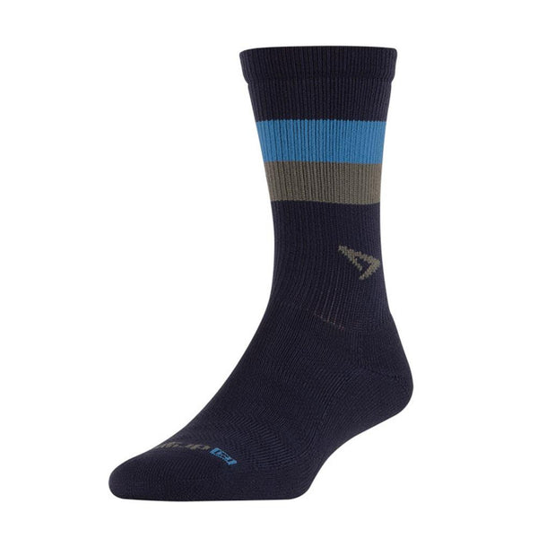 DRYMAX Running Lite-Mesh Crew Navy with Big Sky Blue/Gray Socks (DMX-RUN-1108-P)
