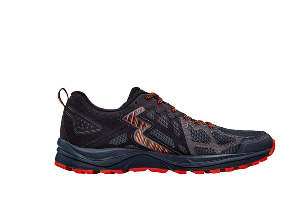 361 DEGREES Mens Denali Ebony/Black Running Shoe (Y838-0709)