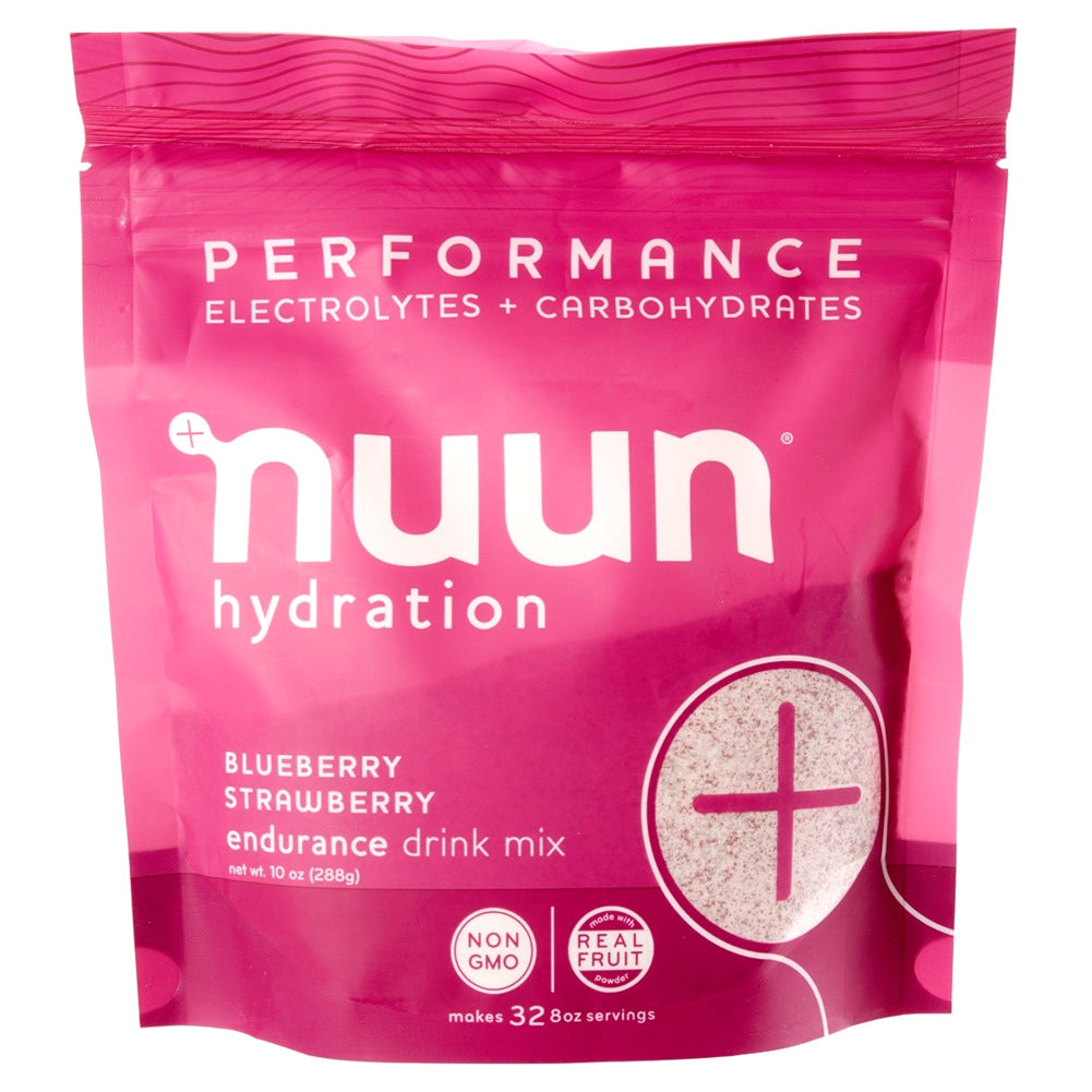 NUUN Performance Blueberry Strawberry 32 Servings Pouch Drink Mix (1190132)