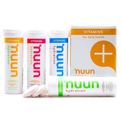 NUUN Mixed Fruit Flavors Box of 4 Tubes Vitamins (1189904)
