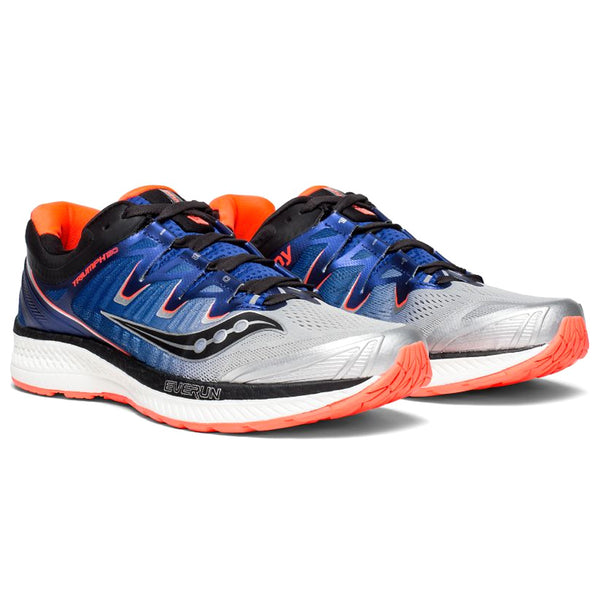 SAUCONY Men's Triumph ISO 4 Silver Blue ViZiRed Running Shoe (S20413-35-040)