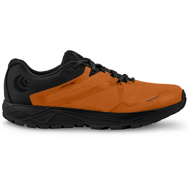 TOPO ATHLETIC Mens MT-3 Orange/Black Running Shoe (M031-ORGBLK)