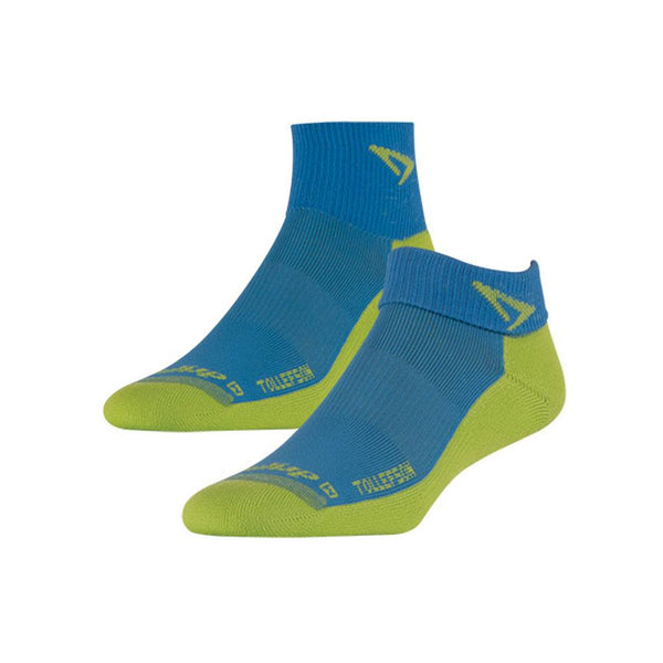 DRYMAX Tollefson Lite Trail Running Mini Crew Big Sky Blue/Sublime Socks (DMX-RUN-13211-P)