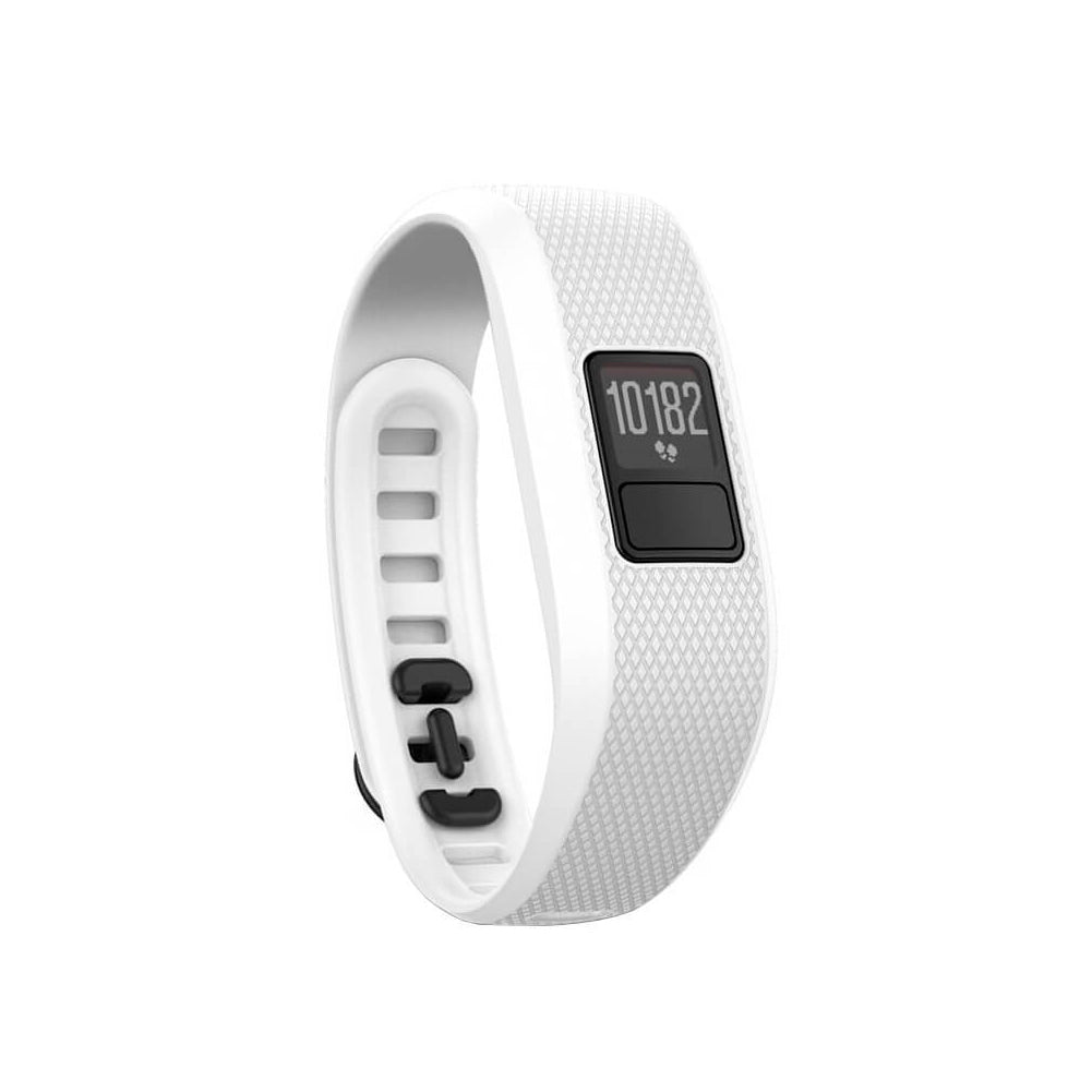 Garmin vivofit 3 (Translated packaging) Regular Fit White Activity Tracker (010-01608-07)