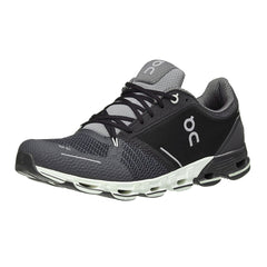 ON FOOTWEAR Mens Cloudflyer Black/White Running Shoe (11.0000)
