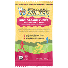 HONEY STINGER Kids Mixed Berry 5-Pack Chew Multipack (72705)
