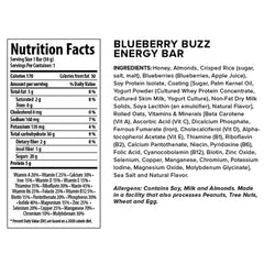 HONEY STINGER Blueberry Buzz 15-Pack Energy Bar (70715)
