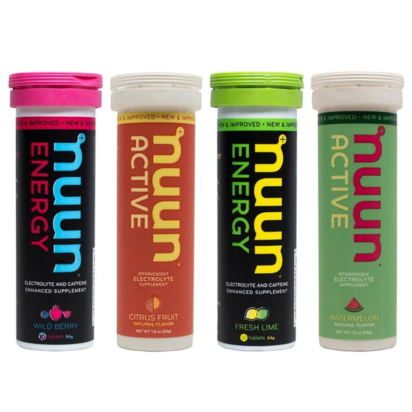 NUUN Mixed People for Bikes Box of 4 Tubes Eletrolyte Tablets (1169906)