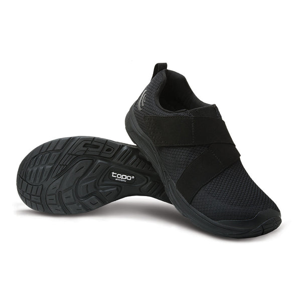 Topo Athletic COR Mens Black Gym Shoes M023-BLKBLK