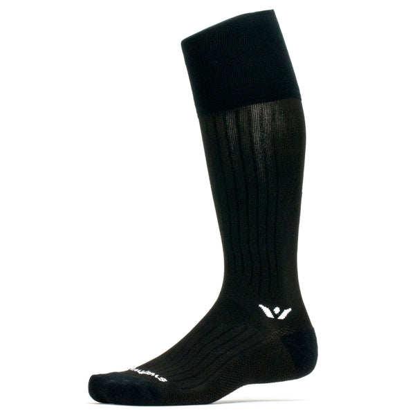 Swiftwick Performance Twelve Black Running Socks (TA018ZZ)