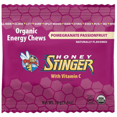 Honey Stinger Pomegranate Passionfruit Energy Chews (72219)