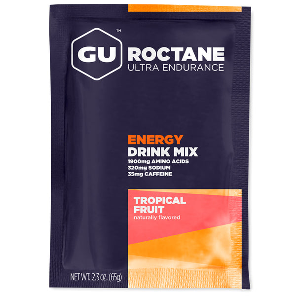GU ENERGY Roctane Ultra Endurance Tropical Fruit 10-Pack Energy Drink Mix (123130)