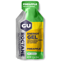 GU ENERGY Roctane Ultra Endurance Pineapple 24-Pack Energy Gel (123067)