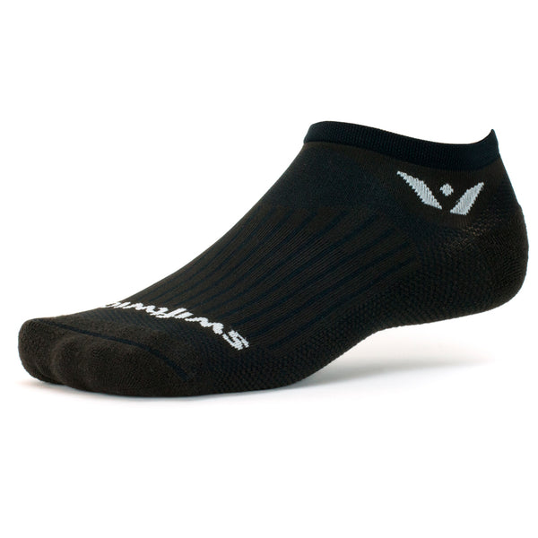 Swiftwick Aspire Zero Black Running Socks (ZC010ZZ)