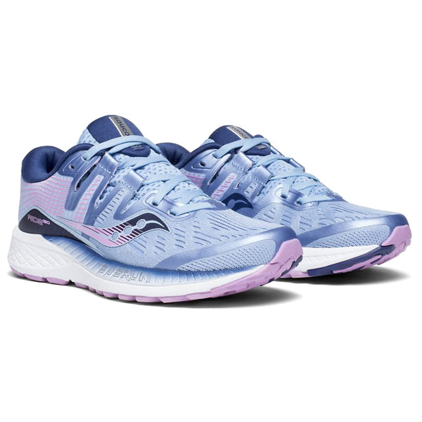 SAUCONY Women's Ride ISO Blue Navy Purple Running Shoe (S10444-1-400)