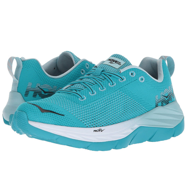 HOKA ONE ONE Women's Mach Bluebird White Shoe (1019280-BDWH)