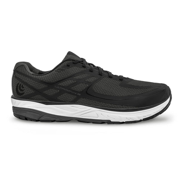 TOPO ATHLETIC Mens Ultrafly 2 Grey/Black Running Shoe (M024-GRYBLK)