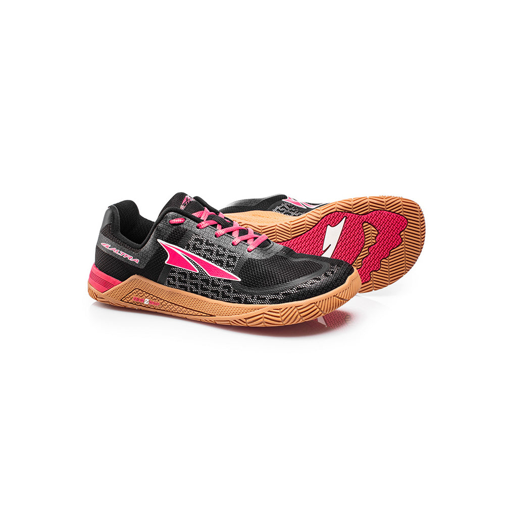 ALTRA Womens HIIT XC Black-Red Crossfit Shoes (AFW1776P-4)