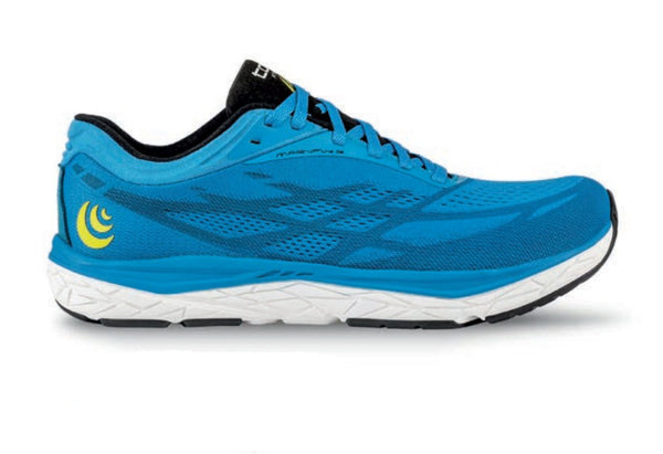 TOPO ATHLETIC Men s Magnifly 3 Blue/Blue Running Shoes (M034-BLUBLU)
