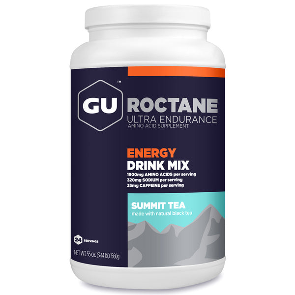 GU ENERGY Roctane Ultra Endurance Summit Tea 24 Serving Canister Energy Drink Mix (124192)