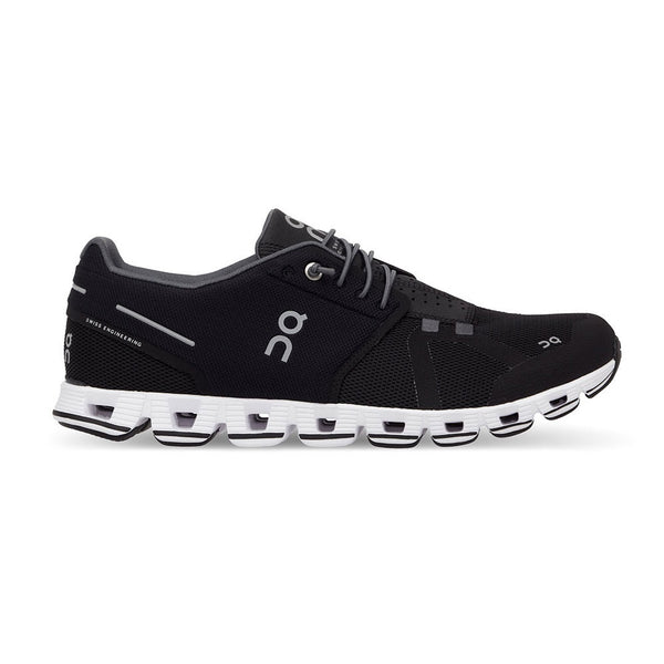 ON FOOTWEAR Mens Cloud Black/White Running Shoe (19.0000)