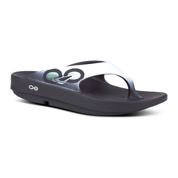 OOFOS OOriginal Sport Thong Cloud White Sandals (1001CLD)