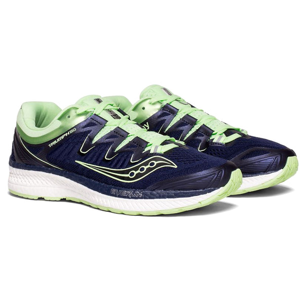 SAUCONY Women's Triumph ISO 4 Navy Mint Running Shoe (S10413-3-410)