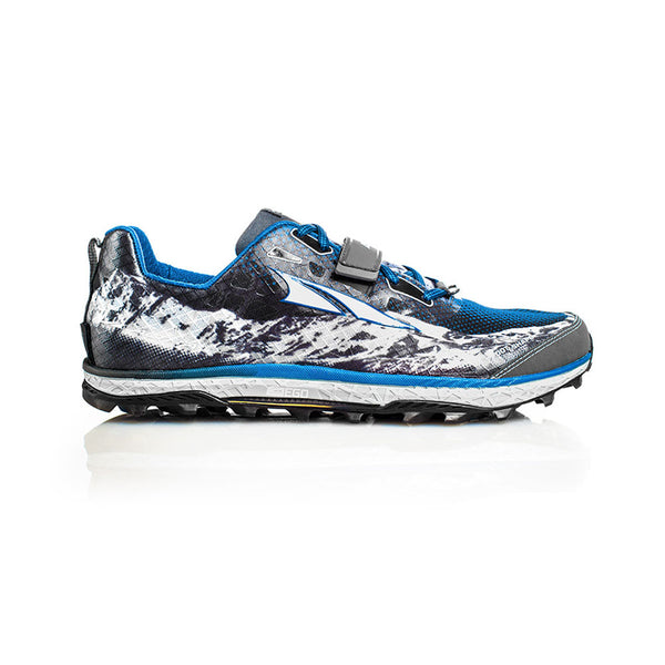 ALTRA Mens King MT Blue Trail Running Shoes (AFM1752G-3)