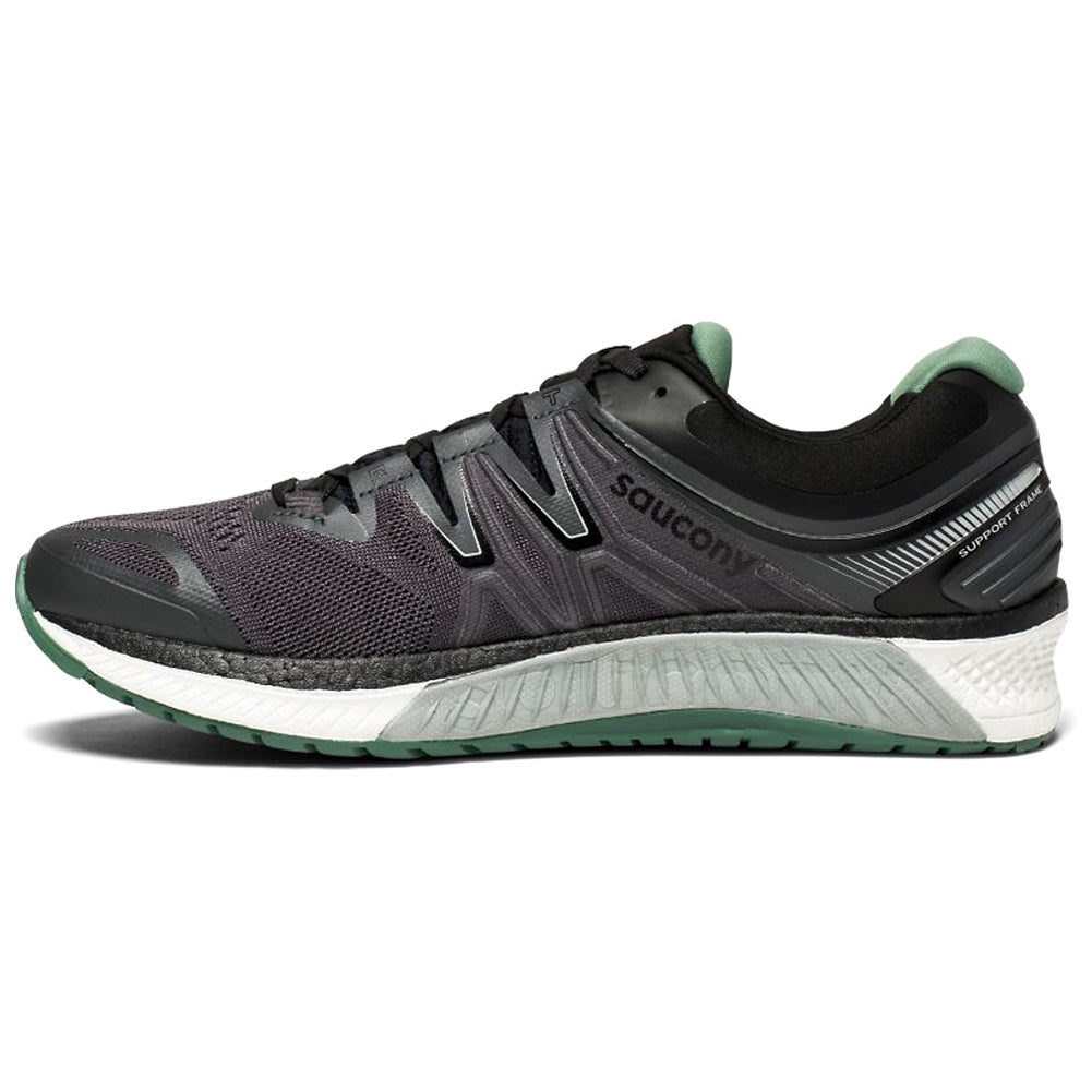 SAUCONY M Hurricane ISO 4 Grey Green Shoe S20411 1 009 – Run