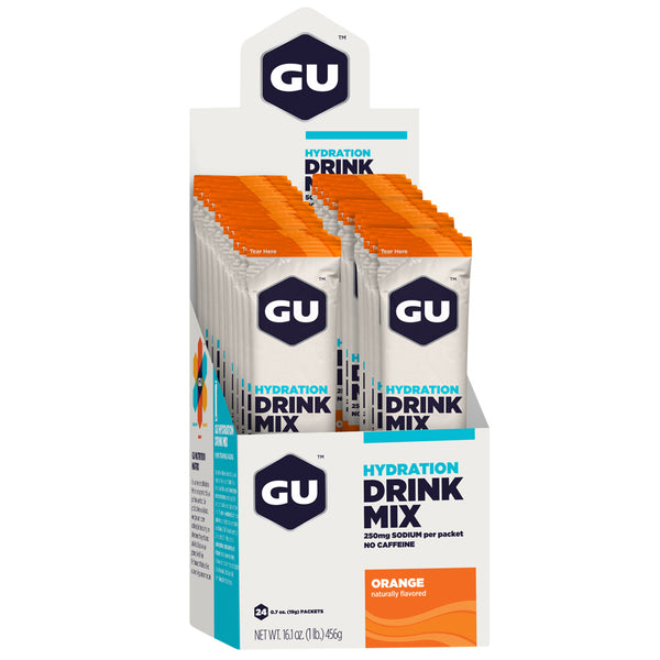 GU ENERGY Hydration Orange 24-Pack Drink Mix (123097)