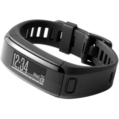 Garmin vivosmart HR (Translated packaging) Regular Fit Black Activity Tracker (010-01955-00)