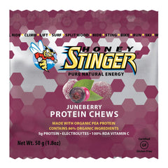 HONEY STINGER Protein Juneberry 12-Pack Chews 77012