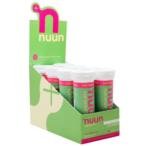 NUUN Active Watermelon Box of 8 Tubes Electrolyte Tablets (1161208)
