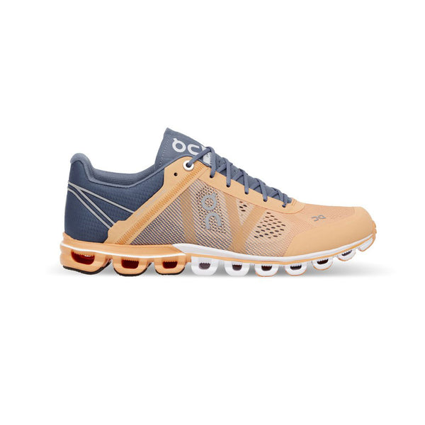 ON FOOTWEAR Womens Cloudflow Almond/Grey Running Shoe (15.1230)