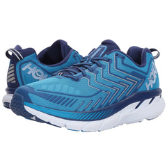 HOKA ONE ONE Men's Clifton 4 Diva Blue True Blue Shoe (1016723-DBTBL)