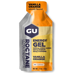 GU ENERGY Roctane Ultra Endurance Vanilla Orange 24-Pack Energy Gel (123066)