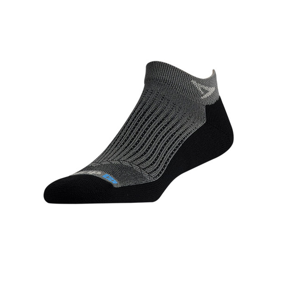DRYMAX Run Unisex Mini Crew Anthracite/Black Running Socks (DMX-RUN-822-P)