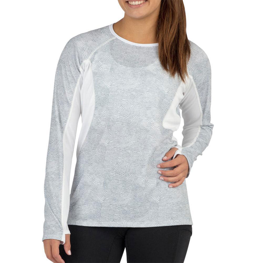 BOA Womens Protect Current Silver Long Sleeve Shirt (2043CTP-CURSI)